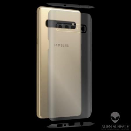 Folie Alien Surface HD, Samsung GALAXY S10 fata, spate, laterale + Alien Fiber Cadou