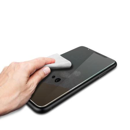 Folie de sticla Apple iPhone 11 PRO MAX, Privacy Glass case friendly, folie securizata duritate 9H