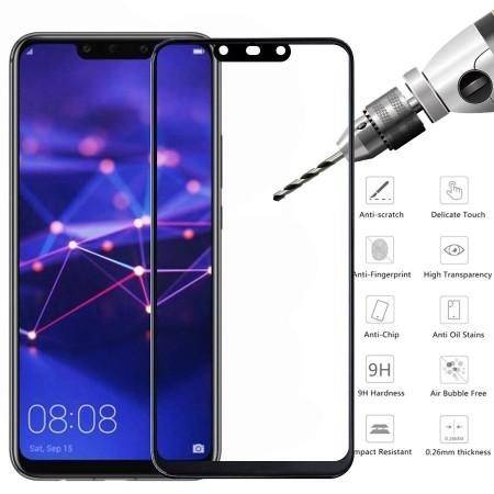 Folie de sticla Huawei MATE 20 Lite, 10D FULL GLUE Negru