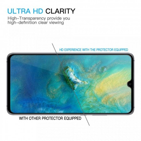 Folie de sticla Huawei P30, 9D FULL GLUE Negru
