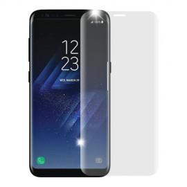 Folie de sticla Samsung Galaxy S8 , Elegance Luxury margini curbate transparenta