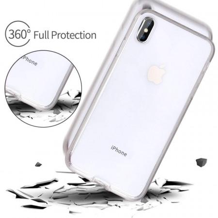 Husa Apple iPhone X, FullBody ultra slim silicon TPU , acoperire completa 360 grade