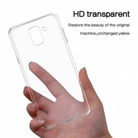 Husa Samsung Galaxy J6, Silicon TPU Transparent