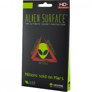 FOLIE ALIEN SURFACE HD, IPHONE X, SPATE, LATERALE + ALIEN FIBER CADOU