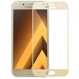 Folie de sticla Samsung Galaxy A5 2017, Elegance Luxury margini colorate Gold