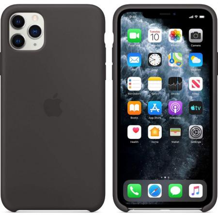 Husa Apple iPhone 11 PRO, Silicon antisoc, Negru