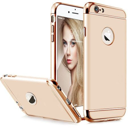 Husa Apple iPhone 7, Elegance Luxury 3in1 Gold