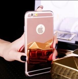 Husa Apple iPhone 7, Elegance Luxury tip oglinda Rose-Gold