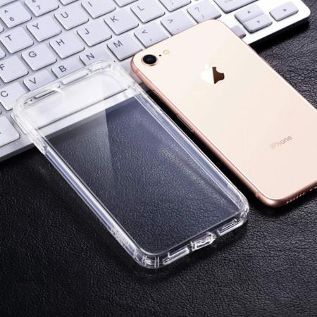 Husa Apple iPhone SE2, Silicon TPU 2.0mm slim Transparenta