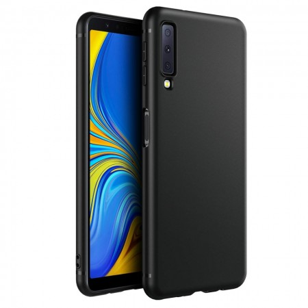 Husa pentru Samsung Galaxy A7 2018, Perfect Fit , Silicon TPU Negru