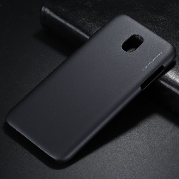 Husa Samsung Galaxy J7 2017, Elegance Luxury X-LEVEL Metalic Black