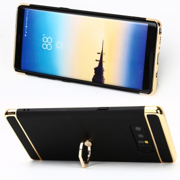 Husa Samsung Galaxy Note 8, Elegance Luxury 3in1 Ring Negru