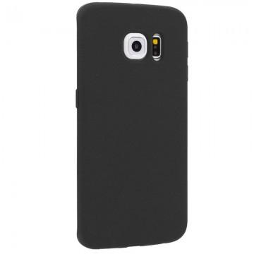 Husa Samsung Galaxy S6 Edge, slim antisoc Black