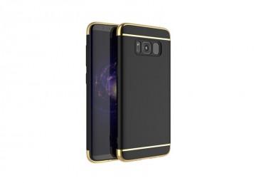 Husa Samsung Galaxy S8 Plus, Elegance Luxury 3in1 Negru