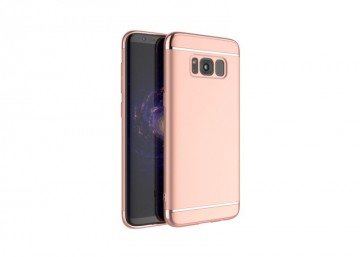 Husa Samsung Galaxy S8 Plus, Elegance Luxury 3in1 Rose-Gold