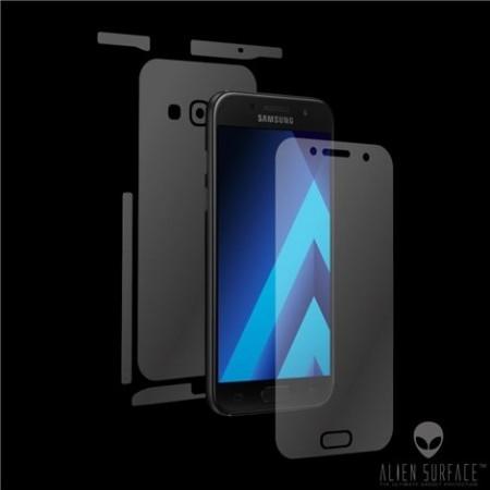 Folie Alien Surface HD, Samsung GALAXY A5 2017, protectie fata,spate,laterale + Alien Fiber Cadou