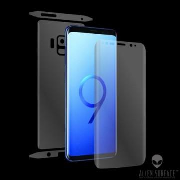 Folie Alien Surface HD, Samsung GALAXY S9, protectie ecran, spate, laterale + Alien Fiber Cadou