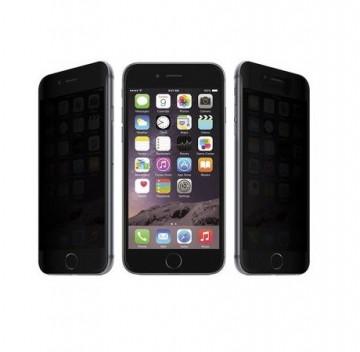 Folie de sticla 5D Apple iPhone 7 Plus, Privacy Glass, folie securizata duritate 9H