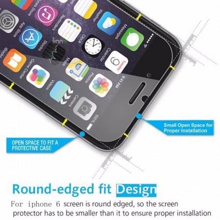 Folie de sticla case friendly Apple iPhone 7, Elegance Luxury transparenta
