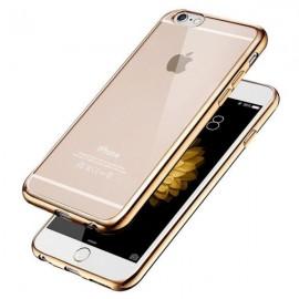 Husa Apple iPhone 6 Plus/6S Plus, Elegance Luxury placata Auriu (ELECTROPLATING GOLD)