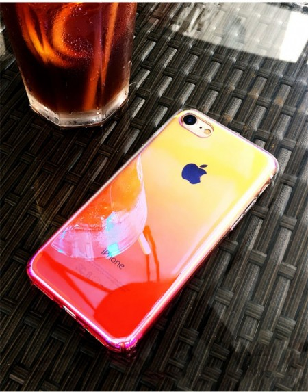 Husa Apple iPhone XS MAX, Gradient Color Cameleon Roz / Pink