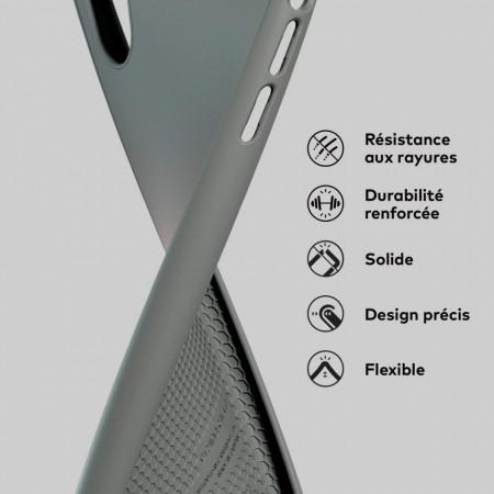 Husa pentru Samsung Galaxy S20 Plus, Perfect Fit, cu insertii de carbon, negru