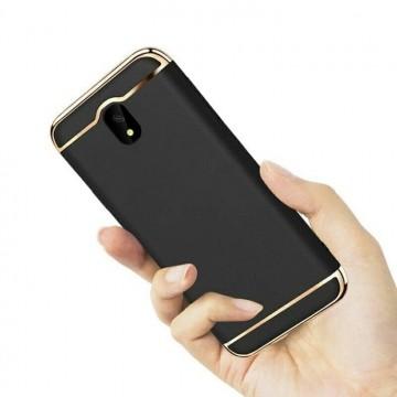 Husa Samsung Galaxy J3 2017, Elegance Luxury 3in1 Negru