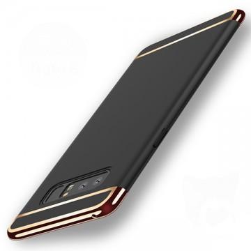 Husa Samsung Galaxy Note 8, Elegance Luxury 3in1 Negru