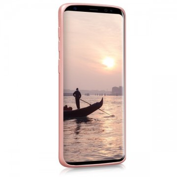 Husa Samsung Galaxy S9, slim antisoc Rose-Gold