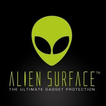 FOLIE ALIEN SURFACE HD, iPhone X, PROTECTIE ECRAN + ALIEN FIBER CADOU