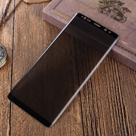 Folie de sticla Samsung Galaxy Note 8, Privacy Glass, folie securizata duritate 9H