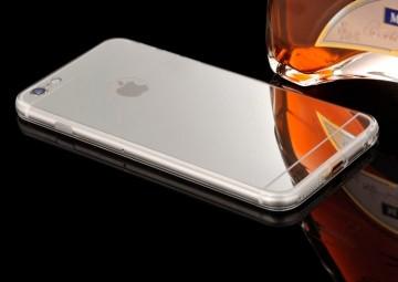 Husa Apple iPhone 8, Elegance Luxury tip oglinda Argintiu