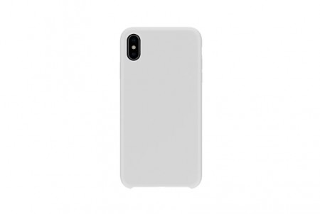 Husa Apple iPhone X MyStyle , silicon slim antisoc Alb
