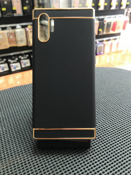 Husa Samsung Galaxy Note 10 Plus , Elegance Luxury 3in1 Negru