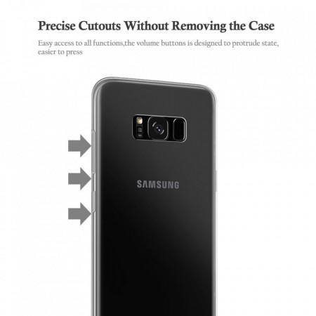 Husa Samsung Galaxy Note 8, Elegance Luxury Silicon TPU slim Transparenta