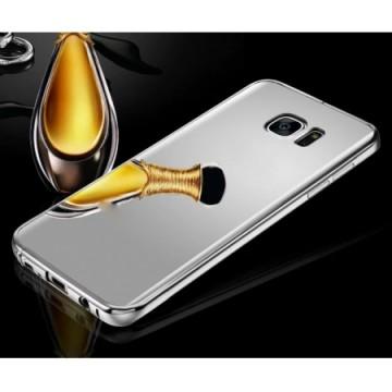 Husa Samsung Galaxy S7 Edge, Elegance Luxury tip oglinda Silver