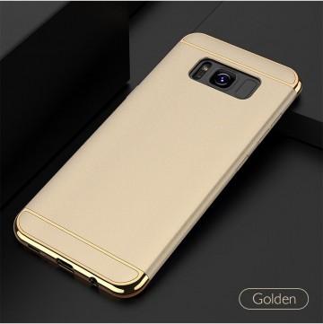 Husa Samsung Galaxy S8, Elegance Luxury 3in1 Auriu
