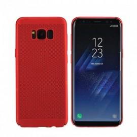 Husa Samsung Galaxy S9, Elegance Luxury Mesh Red