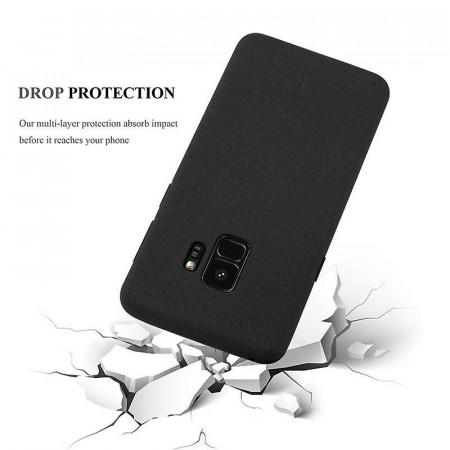 Husa Samsung Galaxy S9, slim antisoc Negru