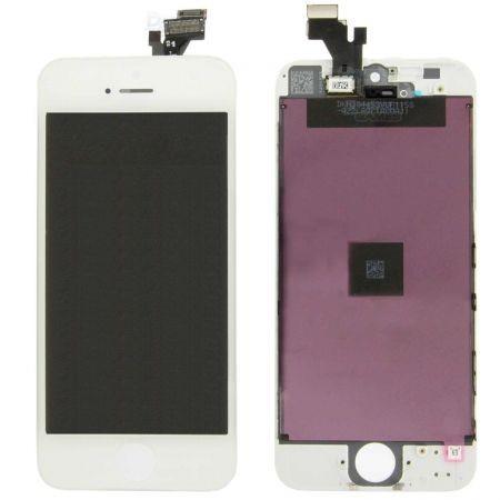 Display LCD compatibil Iphone 5, Alb