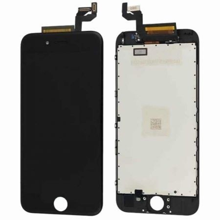 Display LCD compatibil iPhone 6, NEGRU