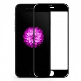Folie de sticla 3D Apple iPhone 7/8, Elegance Luxury margini colorate Black