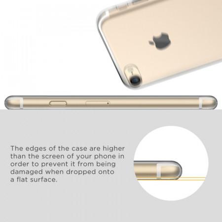 Husa Apple iPhone 6 Plus/6S Plus, TPU slim transparent