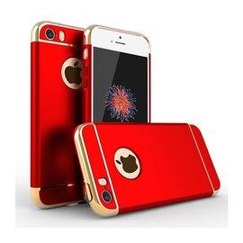 Husa Apple iPhone 7 Plus, Elegance Luxury 3in1 Red