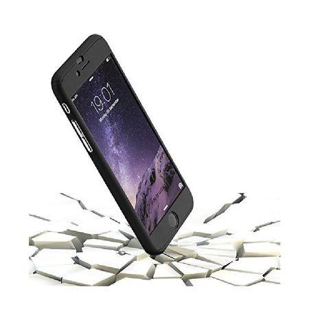 Husa Apple iPhone SE2, FullBody Elegance Luxury Black