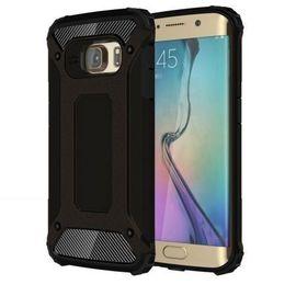 Husa Samsung Galaxy S6 Edge, Armour Strong Black
