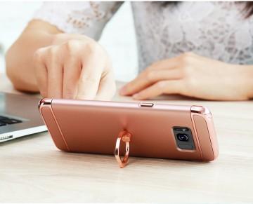 Husa Samsung Galaxy S8, Elegance Luxury 3in1 Ring Auriu