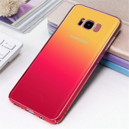Husa Samsung Galaxy S8 Plus , Gradient Color Cameleon Roz / Pink