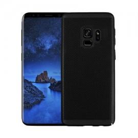 Husa Samsung Galaxy S9, Elegance Luxury Mesh Black