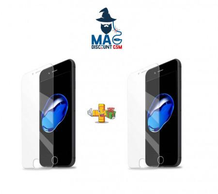 Pachet 2 folii de sticla Apple iPhone 7 , Case Friendly Transparent